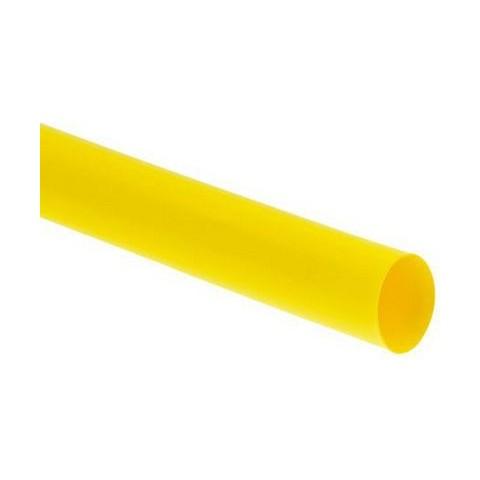 "1/8"" (3.2mm) Heat Shrink Tubing 1 Metre - Yellow"